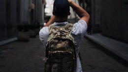 Synthetic Fabrics Backpack
