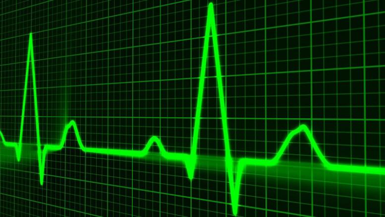 Heart Beat Pulse on Screen